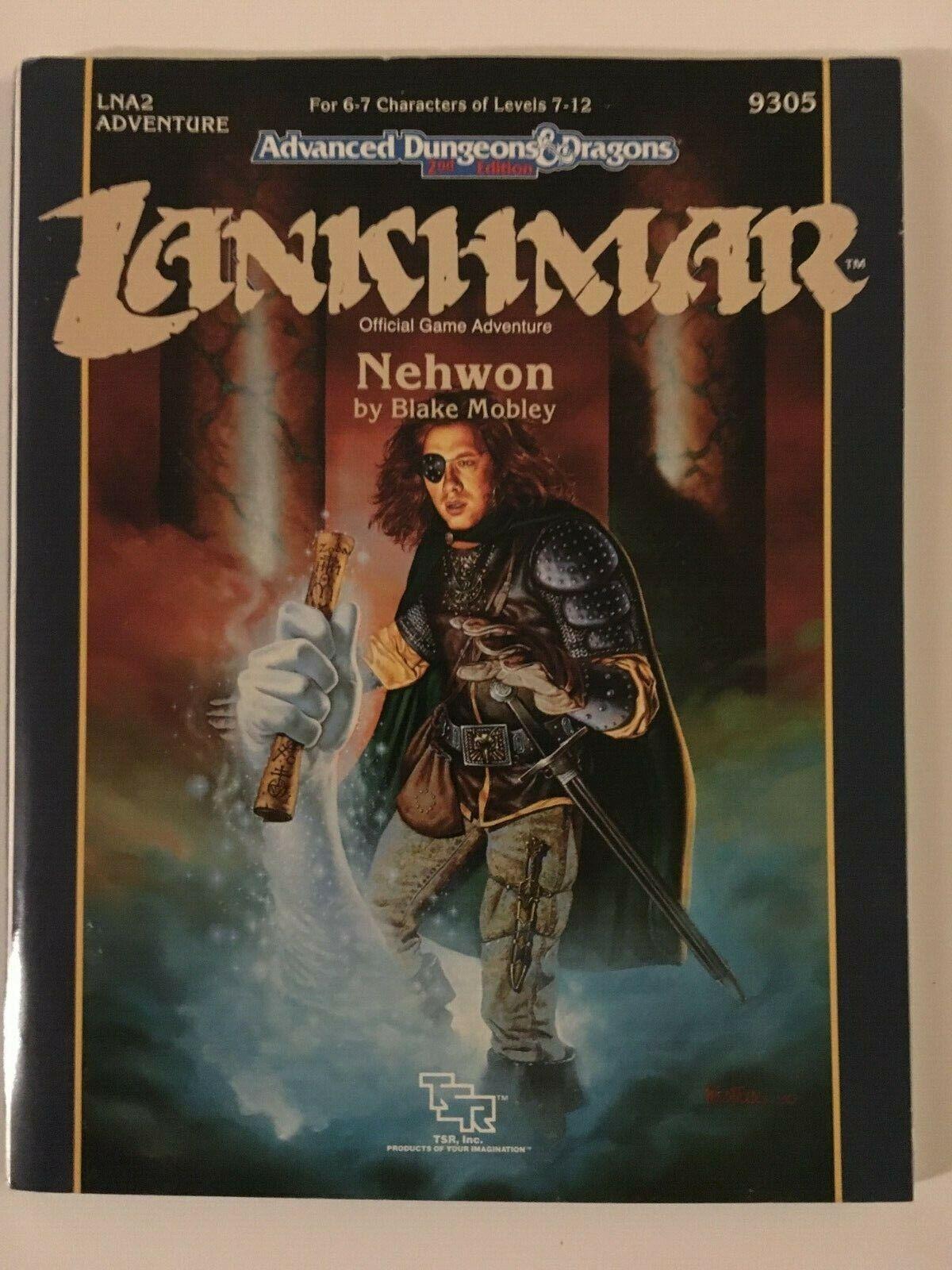 TSR Advanced Dungeons y dragones 2E T Lankhmar; Nehwon LNA2