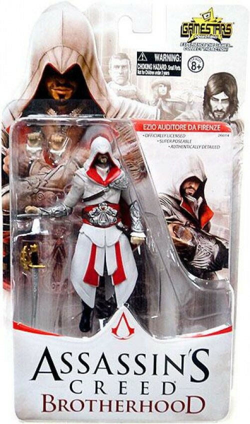 Assassin 's creed brotherhood gamestars ezio auditore da firenze - action - figur