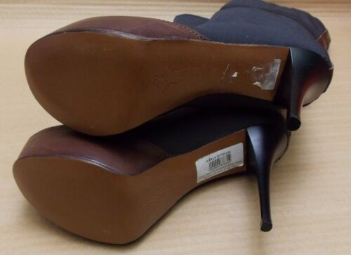 Marni Knee High genuine Grey bn ladies leather 6uk £750 Trim Boots 39 Platform rqBr1nA
