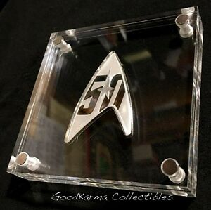 2016 Star Trek The Original Series 50th Anniversary 1oz Silver Proof Delta Coin