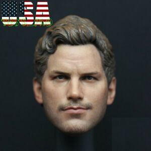 "1//6 Scale Star-Lord 2.0 Chris Pratt Male Head Sculpt F 12/"" Action Figure"