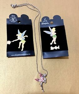 "Disney PIN Tinker Bell Heart Purse Dangle /""Think Tink/"" Tinkerbell Pins"