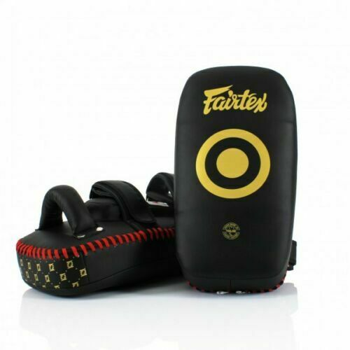 Fairtex Muay Thai Curved Kick Pads  KPLC5 6 Training kicking pads Standard Small