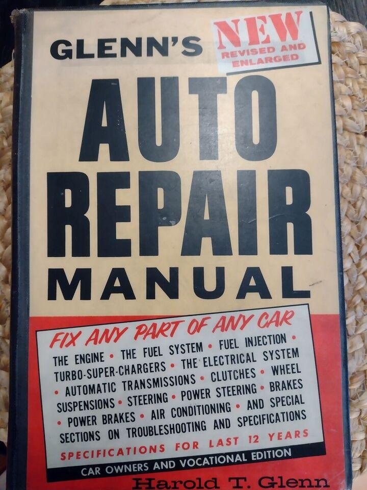Glenn's Auto Repair Manual
