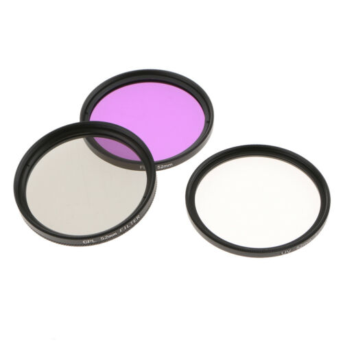 UV CPL FLD Filter Set mit Aufbewahrungstasche für Objektiv Filterset