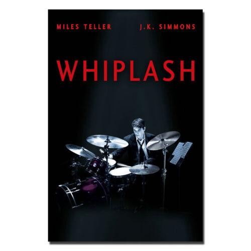 Classic Music Film Whiplash Art Silk Poster Wall Decor 13x20 24x36inch J092