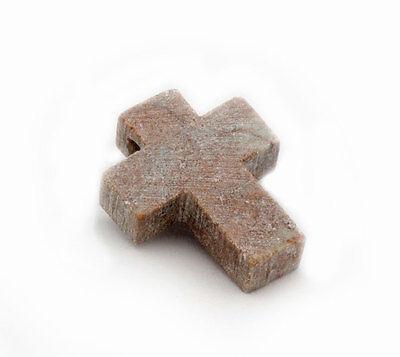 15 St/ück artdee Speckstein Amulett-Anh/änger mit Loch Rohlinge
