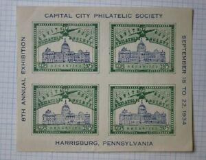 Capital City Society Harrisburg PA 1925 Expo CCPS ...