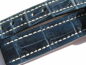 BREITLING-BAND-P214-16MM-16-14-CROCO-DUNKEL-BLAU-DARK-BLUE-STRAP-045-16