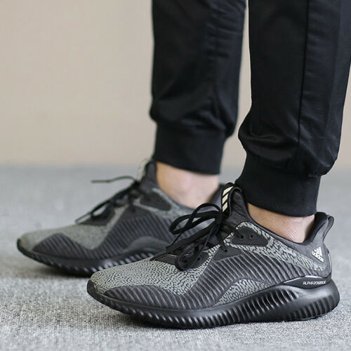 NEW MENS ADIDAS ALPHABOUNCE  HPC AMS SNEAKERS DA9561-SHOES-SIZE 8.5