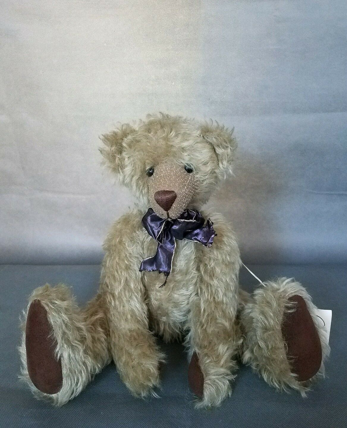 Vintage 1997 BEAR Marrone TEDDY BEAR Sydney Mohair