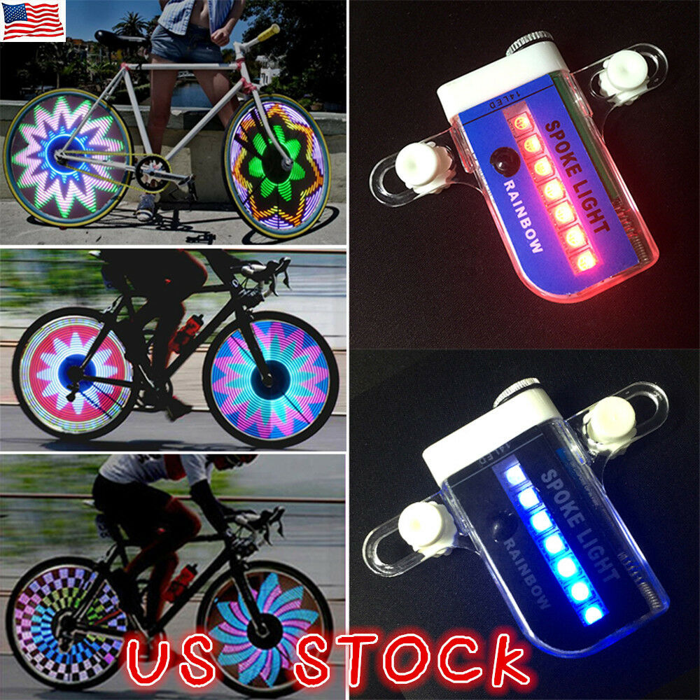 30 Changes 14 LED Motorcycle  Cycling Bicycle Bike Wheel Signal Tire Spoke Light  all products get up to 34% off