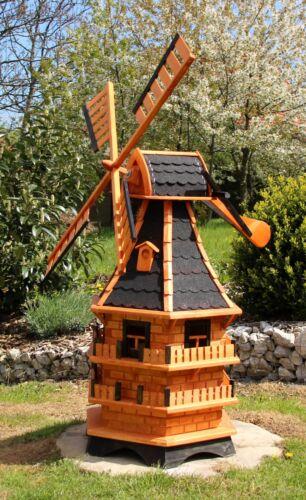 XXL Windmills 1,50 m big with solar lighting type 14.1