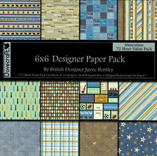 """Sample Paper Pack 6/"""" x 6/"""" Dovecraft Funky Vintage"""
