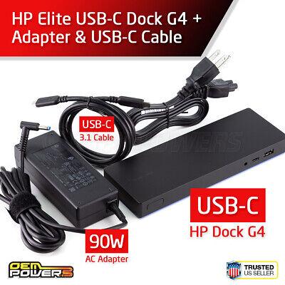 HP EliteBook 840 G4 USB-C USB 3.0 Docking Station w// HDMI Display Inc 65W PSU