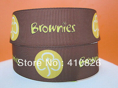 "Brownies Ribbon 1"" Wide NEW UK SELLER FREE P&P"