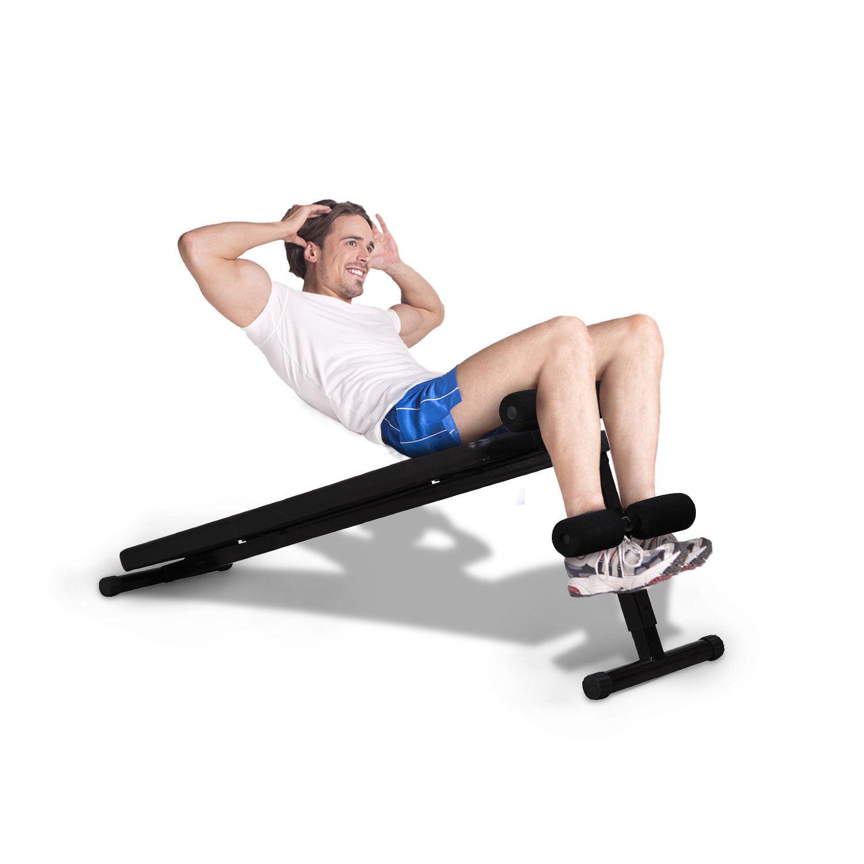 Portable Universal Sit Up Bench  Folding Decline Adjustable  after-sale protection