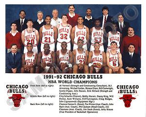 1991-92 CHICAGO BULLS NBA WORLD