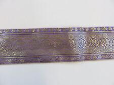 Alte Sariborte gold Seide 400/6  cm nr. 1130