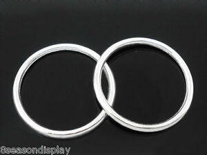 50-PCs-SP-Soldered-Closed-Jump-Ring-24mm-Dia-Findings