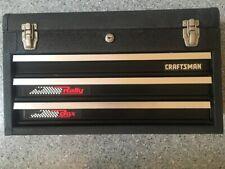 Vintage Craftsman 3 Drawer Rally Tool Box With 2 Keys Usa