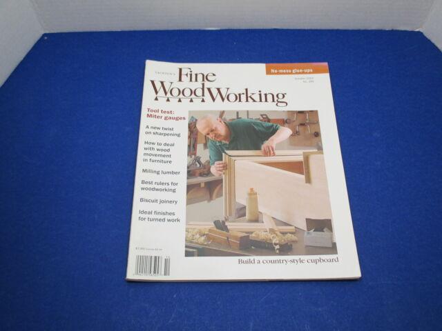 Taunton's Fine Woodworking Magazine October 2003 No.165
