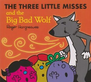 THE THREE LITTLE MISSES AND THE BIG BAD WOLF *BRAND NEW* FREE P&P PIGS