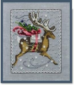 NORA-CORBETT-for-WICHLET-IMPORTS-Cross-Stitch-Chart-CHRISTMAS-EVE-COURIER