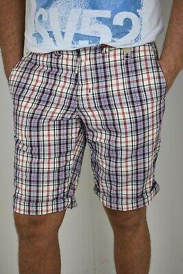 2019 Ultimo Disegno Bermuda Shorts Da Uomo Pantaloni Corti Slim In Di Cotone A Quadri Scozzese 40 42 Un Rimedio Sovranazionale Indispensabile Per La Casa