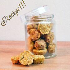 "☆Puppy Treat☆Pumpkin Pie Bites Dog Treat ""RECIPE""☆For Pampered Pets!"