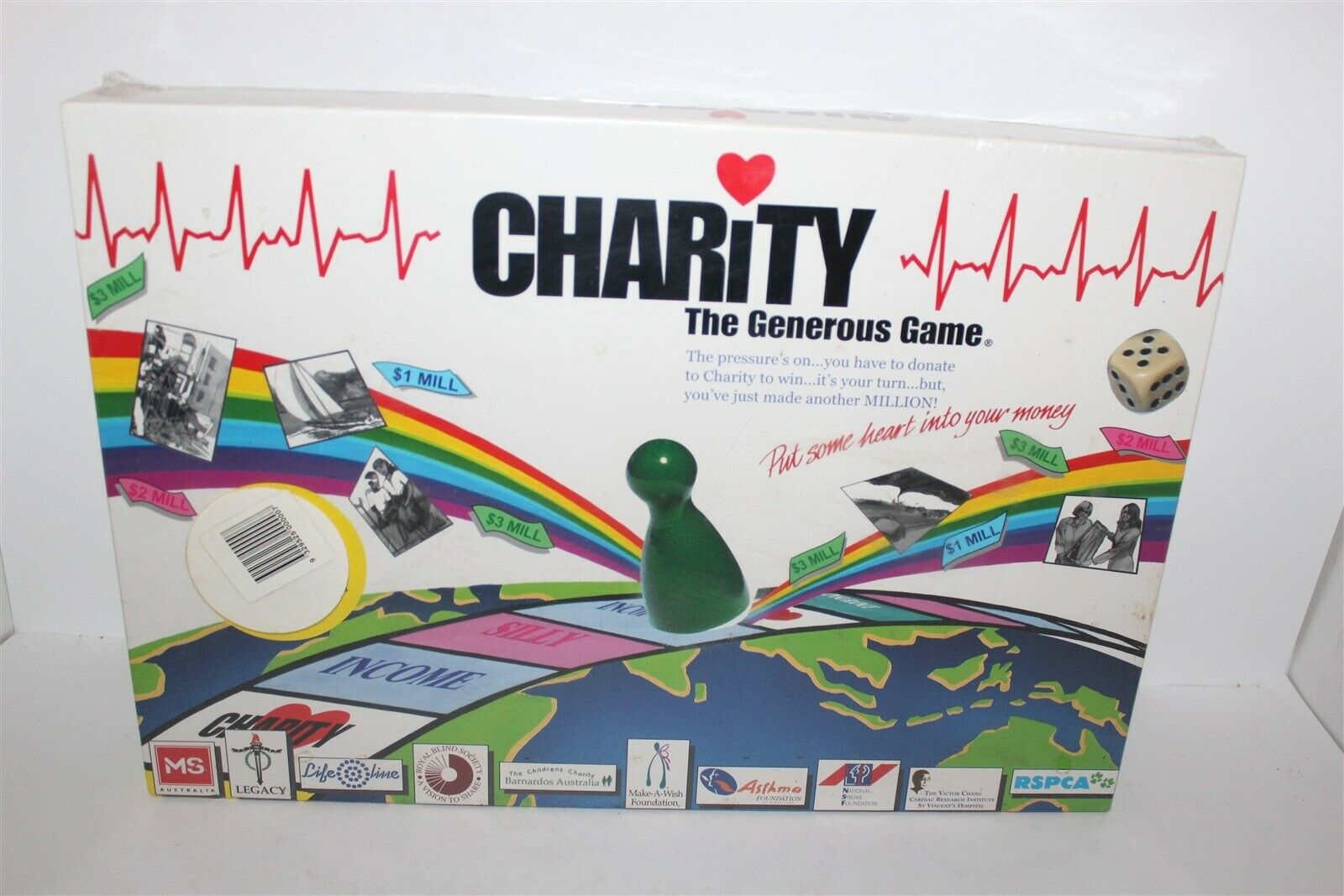 Charity The Geblackus Game Board Game Brand New Sealed 1999