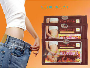 10 Slim Slimming Weight Loss Patches Burn Fat Body Wrap Trim Pads Detox Sheet MU 8771419117536