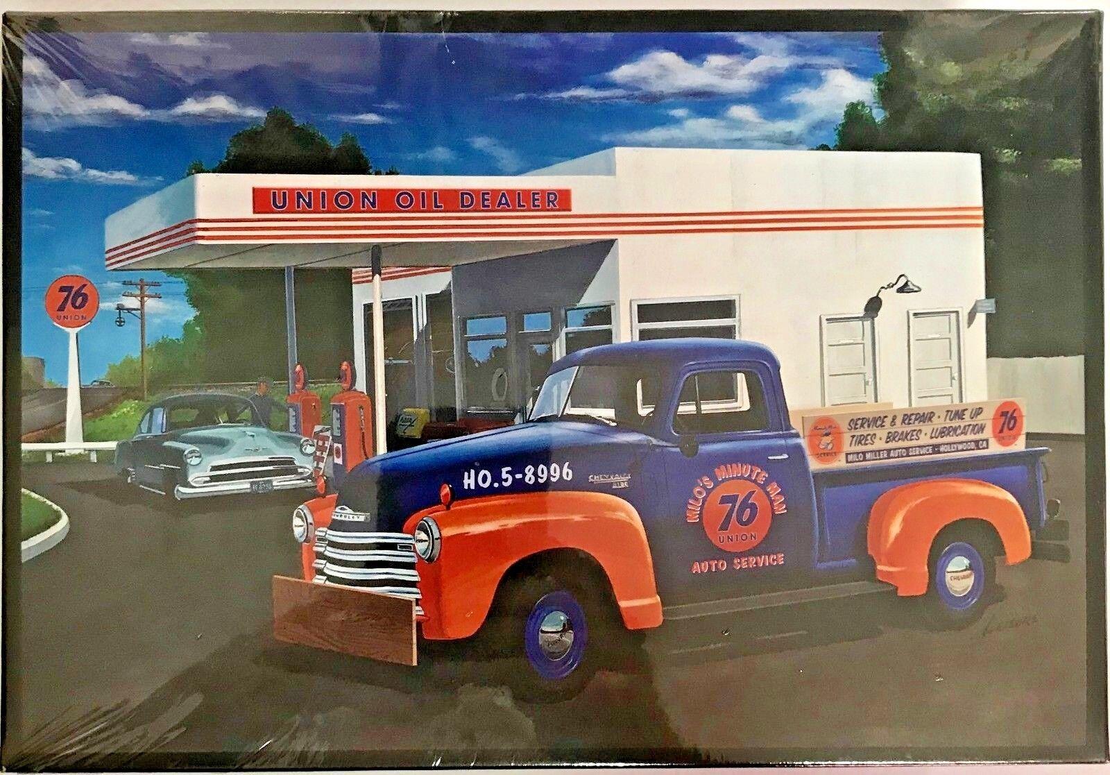 AMT Union 76 1950 Chevrolet Plastic Model Kit  AMT107612 1 25 Scale