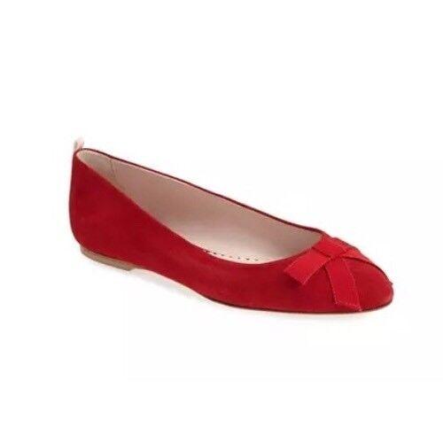 SJP Suede Flats Rojo Mujeres Audrey Skimmer Talla 36.5 36.5 36.5 EUR 4118  hasta 60% de descuento