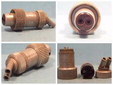 2pol Stecker für Geräte , Me109, Fw190, Ju88, Wehrmacht, WK2. W 732