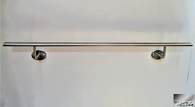 Ovaler Handlauf Geländer V2a Edelstahl Treppengeländer Elliptisch Oval Gerade