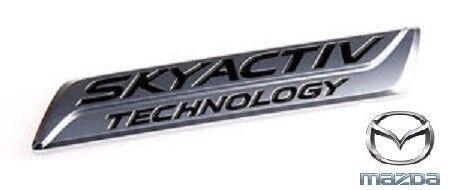 Genuine Mazda de coffre emblème-SKYACTIV Technology-GHK151771