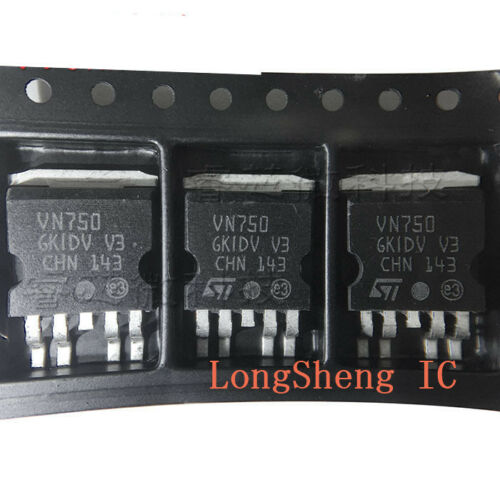 5PCS VN750PT Encapsulation:TO-252,HIGH SIDE DRIVER new