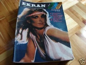 Heather Thomas front cover Polish mag Ekran 1987 - Pyszkowo, Polska - Heather Thomas front cover Polish mag Ekran 1987 - Pyszkowo, Polska