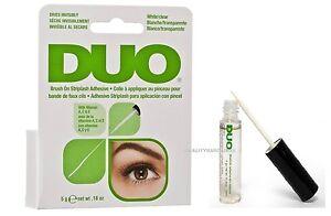 52abdc3e81d Duo Eyelash Lash Glue Adhesive Brush On vitamins & Latex Free Clear ...