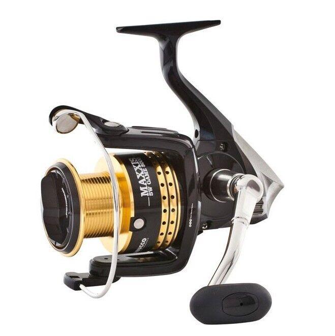 03278550 Cocherete Trabucco Maxxis 5500 SW Juego de pesca de giro verdeical de la p