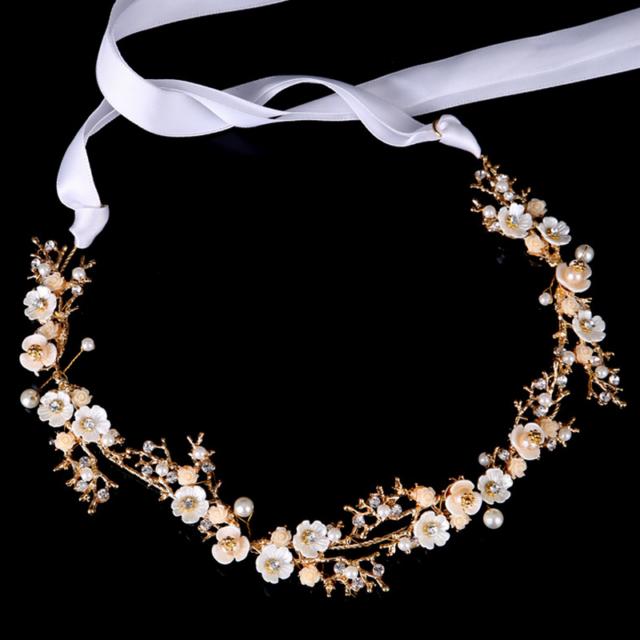 Bendable Bridal Diamante Tiara Wedding Party Hair Vine Headband Headpiece