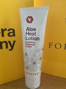 FOREVER LIVING ALOE Nuovo di Zecca ORIGINALE calore rilassante massaggio Lozione 118/ml