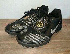 497259f21 Nike Total 90 Shoot II Kids Youth Boys Indoor Soccer Shoes Black ...