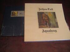 JETHRO TULL AQUALUNG 25TH ANNIVERSARY CD LONGBOX & 40TH ANNIVERSARY BOX LP'S+CDS