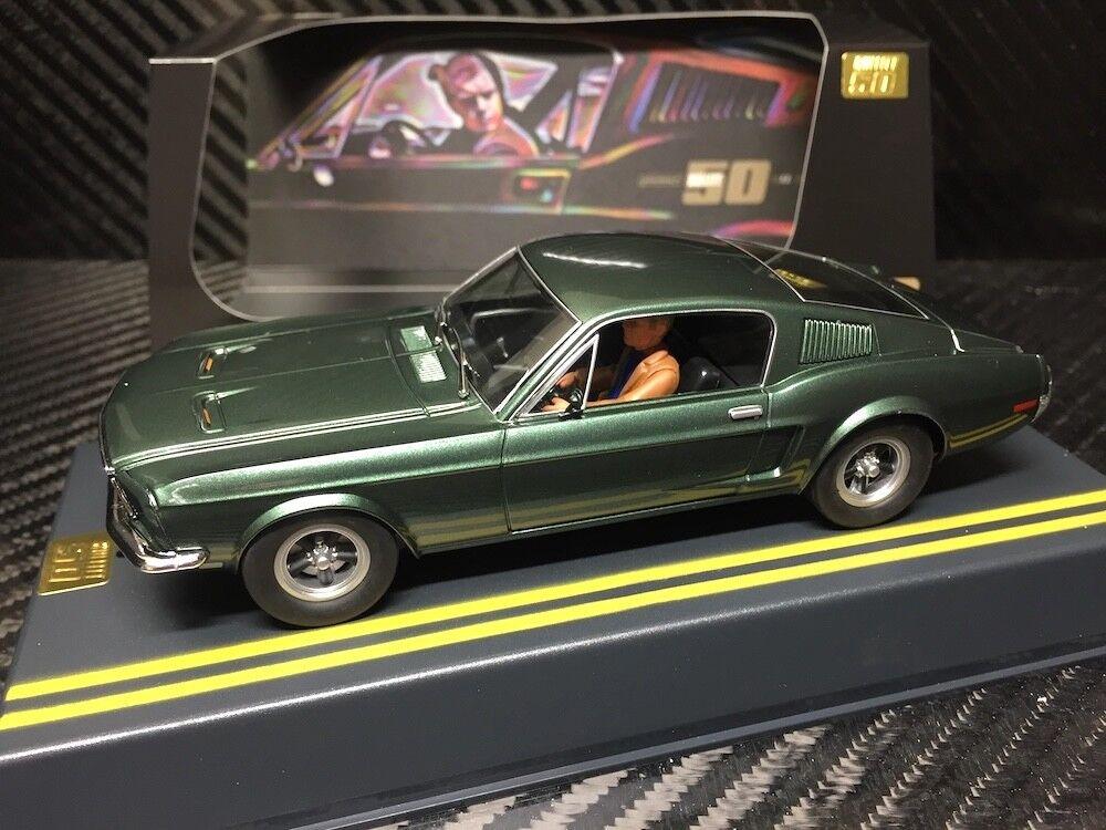 P085   Pioneer BULLITT Mustang 390GT, '50th Anniversary Special Edition' mint un