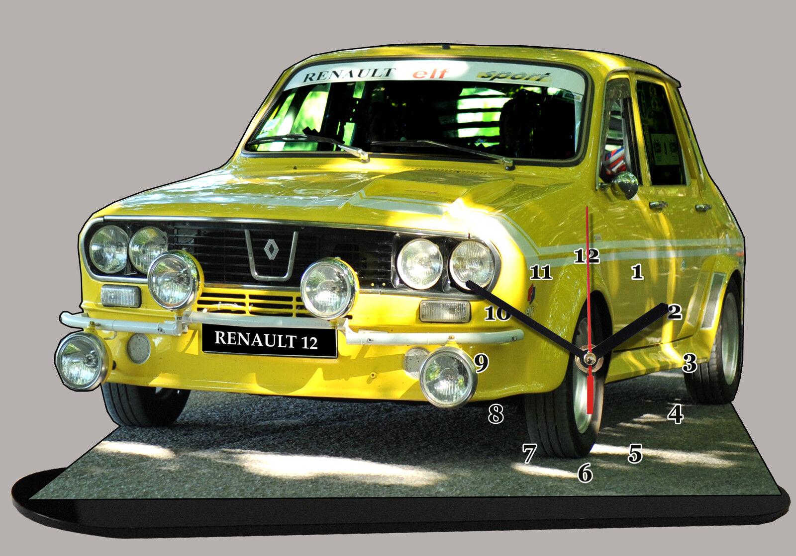 COCHE RENAULT 12 SPORT, R12 SPORT Reloj en modela miniatura 03