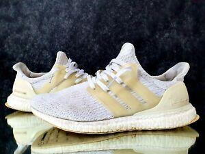 Adidas-Ultra-Boost-3-0-Triple-Orginal-White-Running-Shoes-Men-039-s-Sneakers-Sz-8-5