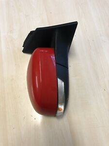 FORD FOCUS MK3 2011-18 DRIVER O/S FRONT WING MIRROR COMPLETE  RIGHT RED
