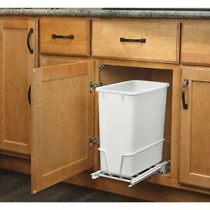 Image Is Loading Pull Out Trash Can Under Cabinet Commercial Waste